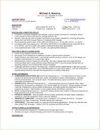 basic resume exles for students sle summer resume college student fresh cv resume exles