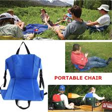 Lightweight Travel Beach Chairs Outdoor Hiking Camping Picnics Concert Stadium Folding Beach Seat