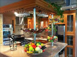 kitchen utensil hanger fruit basket with banana hook modern