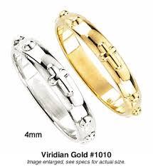 rosary rings mm rosary rings in 10 14k gold 1010