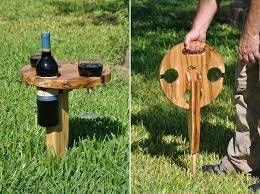Build A Folding Picnic Table by Portable Picnic Wine Table Home Design Garden U0026 Architecture