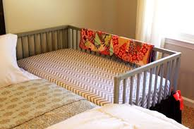Next To Bed Crib Our Diy Co Sleeping Crib Amanda Medlin For Baby Crib Next To Bed