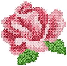 cross stitch machine embroidery design sku 10009