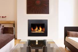 contemporary gas fireplaces