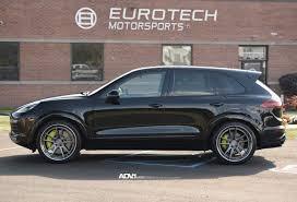 porsche cayenne tire size adv 1 custom wheels porsche cayenne adv6mv2sl polished smoked