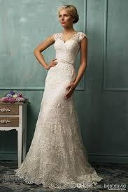 wedding dress sheer straps sheer straps lace cap sleeve wedding dresses illusion back sheath