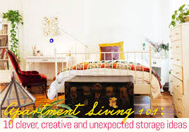 10 clever creative and unexpected storage ideas for apartment