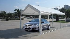 Open Carport by Amazon Com Exacme White 10x20 U0027 Heavy Duty Carport Car Shelter
