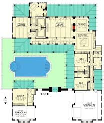 mediterranean home plans with courtyards https i pinimg com 736x 67 08 59 67085975bed193d