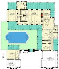 Mediterranean House Plans With Courtyard 403 Best Floorplans Images On Pinterest House Floor Plans