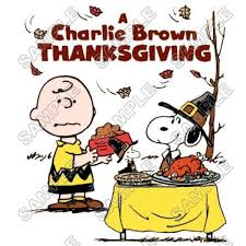 thanksgiving tee shirts personalized iron on transfers peanuts snoopy charlie brown