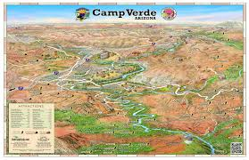 Map Of Phoenix Arizona by Visit Camp Verde The Center Of It All Home
