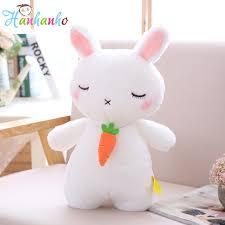 rabbit birthday kawaii white rabbit plush children doll standing
