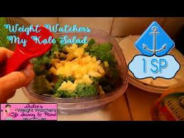 cuisine ww ww julie s 1 smartpoint kale salad with two recipes pizza