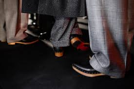 christian louboutin men shoes step out at london collections men