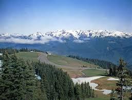 Olympic mountains mountains washington united states