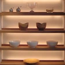 shelf with lights underneath under shelf lighting view larger under shelf lighting theluxurist co