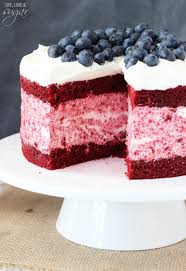 red velvet ice cream cake life love and sugar