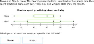 ixl interpret box and whisker plots 7th grade math practice