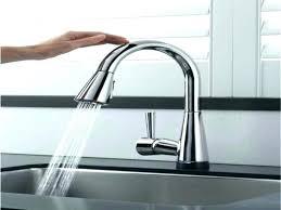 delta touch kitchen faucet breathtaking delta touchless kitchen faucet fantastic delta touch