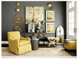 grey livingroom simple yellow and gray living room decor style home design top