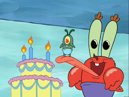 young krabs and plankton never too old for spongebob
