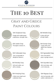 sherwin williams paint colors the best warm gray and greige paint colours sherwin williams kylie