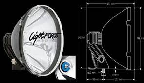 lightforce 240 blitz hid lights 12 volt automotive