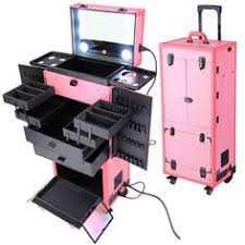 makeup artist box various aluminum rolling makeup salon cosmetic box