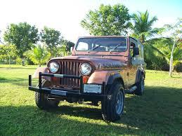 dark green jeep cj 1983 cj 8s