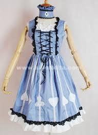 light blue sleeveless dress brand new square collar light blue sleeveless lace bow printed