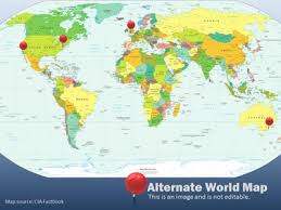 world map tool kit a powerpoint template from presentermedia com