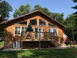 north woods cabin on sandy beach w kayaks u0026 vrbo