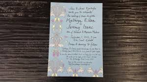 custom invitation custom wedding suite letterpress invitation printing nyc