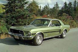 Black And Lime Green Mustang Mustang Specs 1968 Ford Mustang