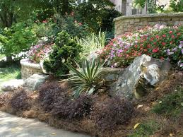 creative decoration landscaping boulders cost pleasing landscape