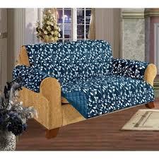 Blue And White Striped Slipcovers Blue Sofa Slipcovers You U0027ll Love Wayfair