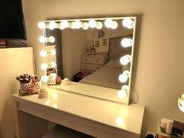 light up makeup table mirror with lighting light up mirror makeup vanity table and lights