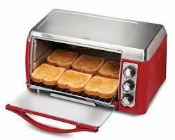 Hamilton Beach Digital 4 Slice Toaster Hamilton Beach 31335 Ensemble 6 Slice Toaster Oven Red Youtube