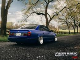 bmw e34 stance tuning bmw e34 low lowered stance stanced airlift on air