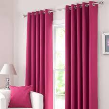 Dunelm Nursery Curtains Solar Fuchsia Blackout Eyelet Curtains Dunelm