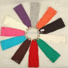 wholesale headbands 2018 fashion women knit headbands cotton crochet headwrap winter