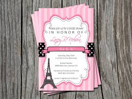 paris baby shower invitations template best template collection