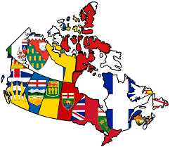 map of the provinces of canada canadian provinces flag map by heersander on deviantart