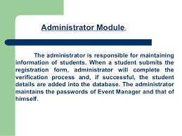 alumni database software alumni portal ppt for projects