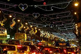 here u0027s a look back at the orchard road christmas light up across