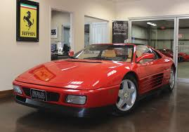 used 1991 ferrari 348 stock p3201 ultra luxury car from merlin