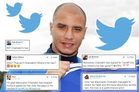 marouane chamakh u0027s move to cardiff upstaged by his new haircut