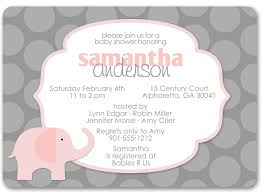 pink and grey baby shower invitations cloveranddot
