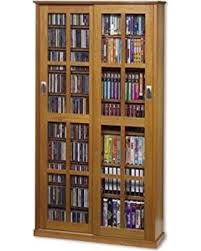 cd storage cabinet with doors great deals on leslie dame ms 700 mission multimedia dvd cd storage